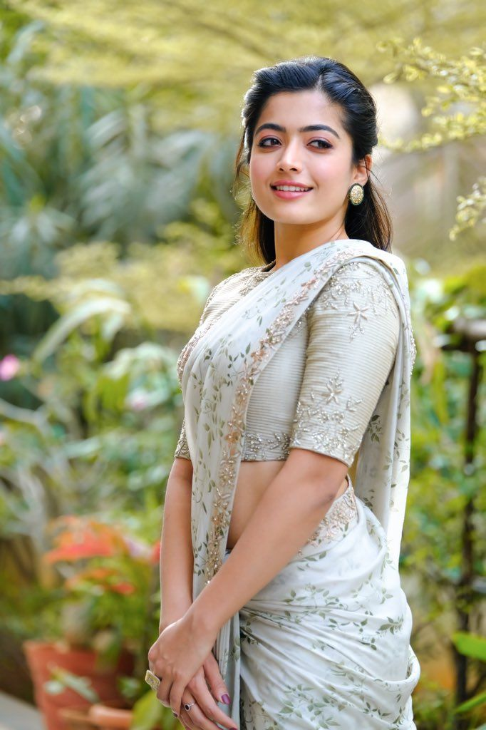 Rashmika Mandanna HD photos in saree