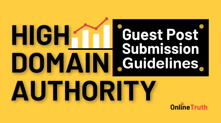 Guest Post Submission Guidelines