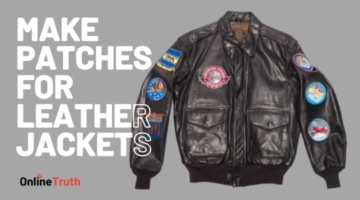 How to make patches for leather jackets