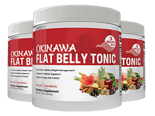 Everything is 100% natural and safe in Okinawa Flat Belly Tonic Three bottles